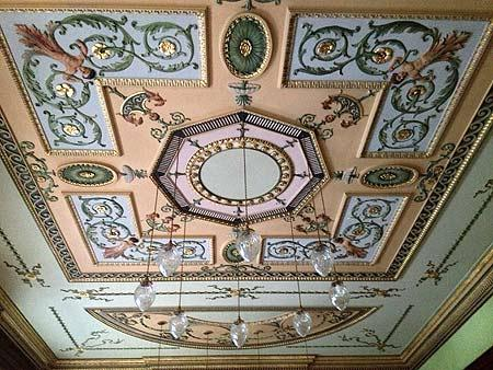 ceiling in 5 Charlotte Square