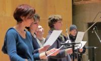 <strong>singing Psalm 124</strong><br>Clare Salaman, Pamela Thorby, David McGuinness, Mairi Campbell, Nick Halley